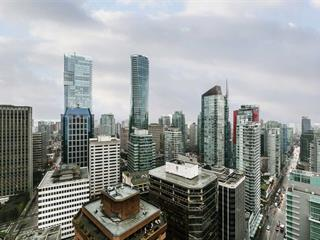Apartment for sale in Coal Harbour, Vancouver, Vancouver West, 3605 1111 W Pender Street, 262589537 | Realtylink.org