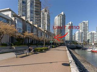 Townhouse for sale in Yaletown, Vancouver, Vancouver West, 110 1228 Marinaside Crescent, 262585675 | Realtylink.org