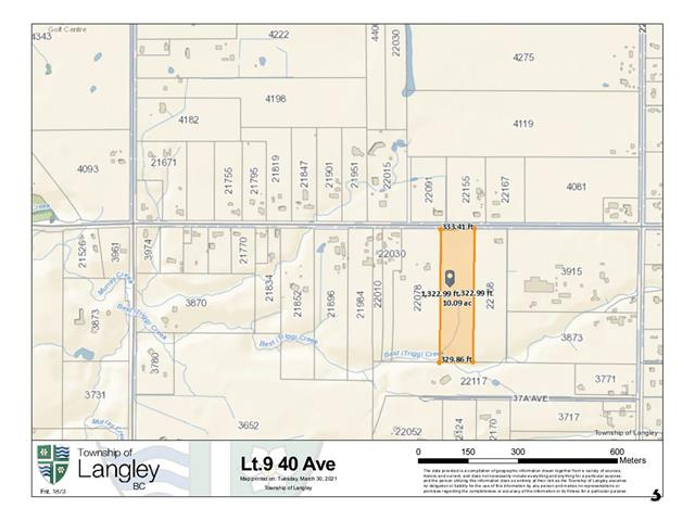 Lot for sale in Brookswood Langley, Langley, Langley, Lot 9 40 Avenue, 262583288 | Realtylink.org