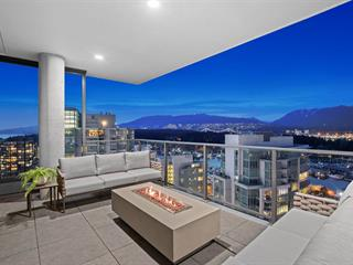 Apartment for sale in Coal Harbour, Vancouver, Vancouver West, 2501 620 Cardero Street, 262586742 | Realtylink.org