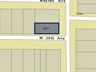 Lot for sale in Dunbar, Vancouver, Vancouver West, 3311 W 39th Avenue, 262584547 | Realtylink.org