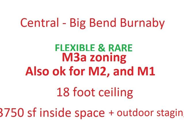 Industrial for lease in Big Bend, Burnaby, Burnaby South, 6120 Trapp Avenue, 224931924 | Realtylink.org