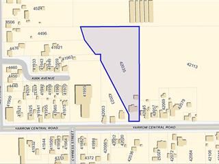 Commercial Land for sale in Yarrow, Yarrow, 42035 Yarrow Central Road, 224942245 | Realtylink.org