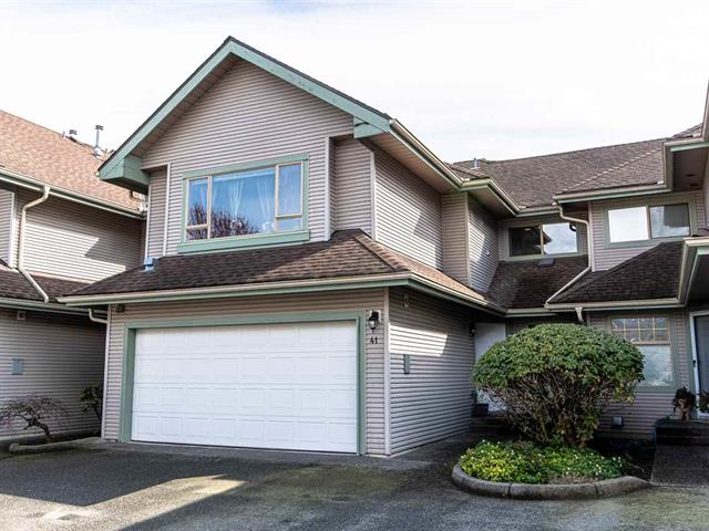 Townhouse for sale in Riverwood, Port Coquitlam, Port Coquitlam, 41 1255 Riverside Drive, 262581742 | Realtylink.org