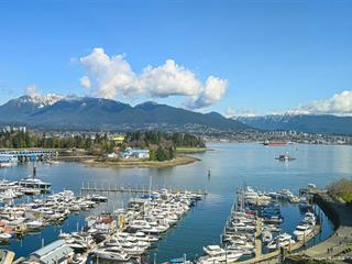 Apartment for sale in Coal Harbour, Vancouver, Vancouver West, 1201 588 Broughton Street, 262579901 | Realtylink.org