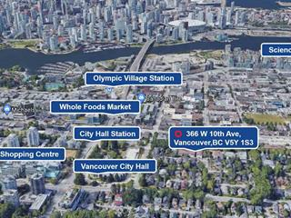 Townhouse for sale in Mount Pleasant VW, Vancouver, Vancouver West, 366 W 10th Avenue, 262581387 | Realtylink.org