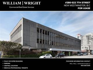 Office for lease in Uptown NW, New Westminster, New Westminster, 280 522 Seventh Street, 224942736 | Realtylink.org