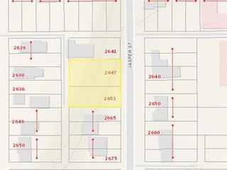 Lot for sale in South Fort George, Prince George, PG City Central, 2647 Jasper Street, 262587276 | Realtylink.org