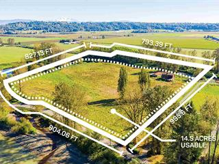 Lot for sale in Bradner, Abbotsford, Abbotsford, 27612 River Road, 262524167 | Realtylink.org