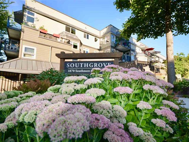 Apartment for sale in Sunnyside Park Surrey, Surrey, South Surrey White Rock, 309 1870 E Southmere Crescent, 262506906 | Realtylink.org