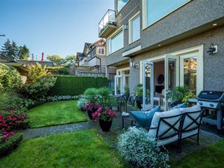 Townhouse for sale in Kitsilano, Vancouver, Vancouver West, 2549 York Avenue, 262537546   Realtylink.org