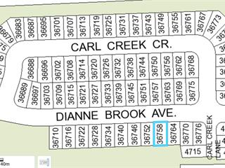 Lot for sale in Abbotsford East, Abbotsford, Abbotsford, 36758 Dianne Brook Avenue, 262537907 | Realtylink.org