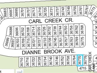 Lot for sale in Abbotsford East, Abbotsford, Abbotsford, 36770 Dianne Brook Avenue, 262537912 | Realtylink.org