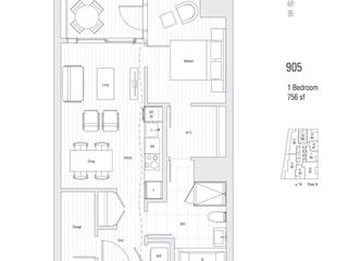 Apartment for sale in West End VW, Vancouver, Vancouver West, 905 1550 Alberni Street, 262525603 | Realtylink.org