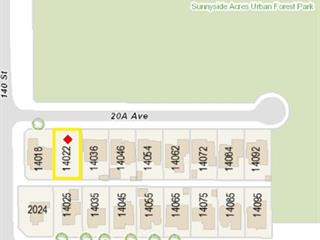 Lot for sale in Sunnyside Park Surrey, Surrey, South Surrey White Rock, 14022 20a Avenue, 262502081   Realtylink.org
