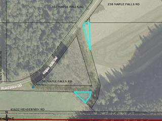 Lot for sale in Lindell Beach, Cultus Lake, Cultus Lake, Se & Ne Ls 4 Maple Falls Road, 262508467 | Realtylink.org