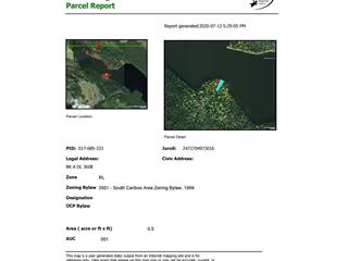 Lot for sale in Lac la Hache, Lac La Hache, 100 Mile House, Blk A Dl 3608 Murphy Lake Road, 262497859 | Realtylink.org