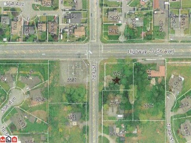 Lot for sale in Cloverdale BC, Surrey, Cloverdale, 5582 184 Street, 262528019 | Realtylink.org