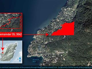 Lot for sale in Bowen Island, Bowen Island, Remainder Dl 3042, 262527872 | Realtylink.org