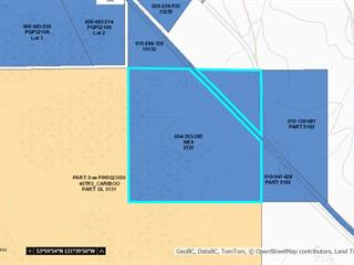 Lot for sale in Upper Fraser, Prince George, PG Rural East, Dl 3131 Upper Fraser Road, 262525439 | Realtylink.org