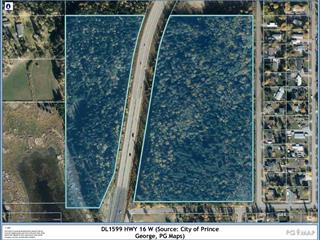 Lot for sale in Lafreniere, Prince George, PG City South, Dl 1599 W 16 Highway, 262529756 | Realtylink.org