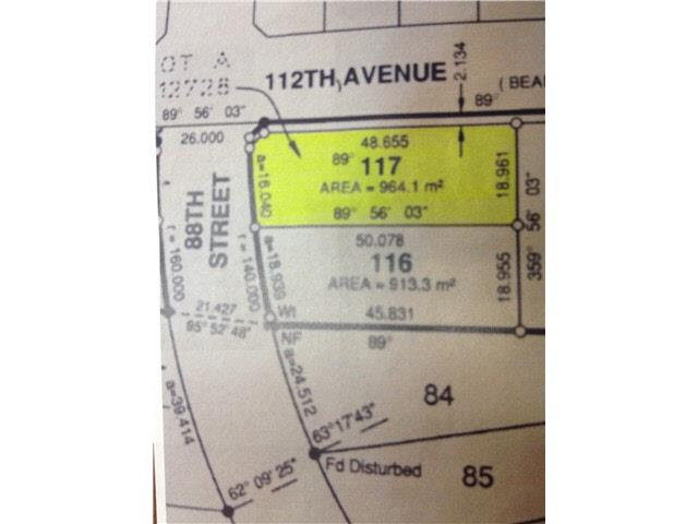 Lot for sale in Fort St. John - City NE, Fort St. John, Fort St. John, Lot 117 88 Street, 262427688 | Realtylink.org