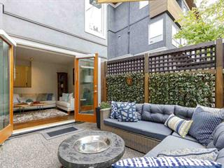 Townhouse for sale in Kitsilano, Vancouver, Vancouver West, 1367 Walnut Street, 262537947   Realtylink.org