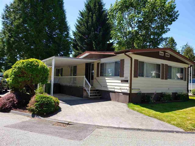 Manufactured Home for sale in King George Corridor, Surrey, South Surrey White Rock, 308 1840 160 Street, 262499581 | Realtylink.org
