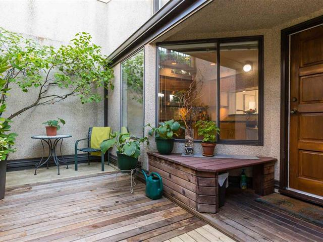 Townhouse for sale in West End VW, Vancouver, Vancouver West, 310 1789 Davie Street, 262532823 | Realtylink.org