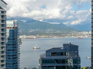 Apartment for sale in Coal Harbour, Vancouver, Vancouver West, 2203 1188 W Pender Street, 262533411 | Realtylink.org