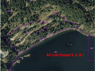 Lot for sale in Gibsons & Area, Gibsons, Sunshine Coast, 38 Lots Witherby Beach Road, 262071533 | Realtylink.org