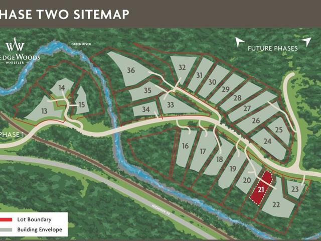 Lot for sale in WedgeWoods, Whistler, Whistler, 9113 Riverside Drive, 262517781 | Realtylink.org