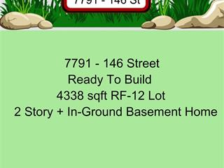 Lot for sale in East Newton, Surrey, Surrey, 7791 146 Street, 262552496 | Realtylink.org