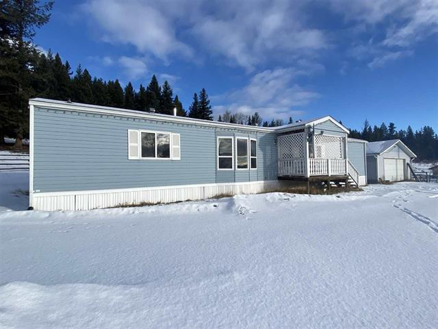 Manufactured Home for sale in Lac la Hache, Lac La Hache, 100 Mile House, 5239 Timothy Lake Road, 262552026   Realtylink.org