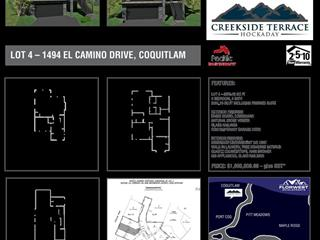 Lot for sale in North Coquitlam, Coquitlam, Coquitlam, 4 1411 Pipeline Road, 262552161 | Realtylink.org