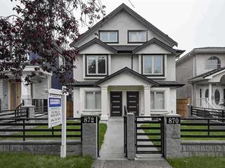 1/2 Duplex for sale in South Vancouver, Vancouver, Vancouver East, 870 E 58th Avenue, 262551010 | Realtylink.org
