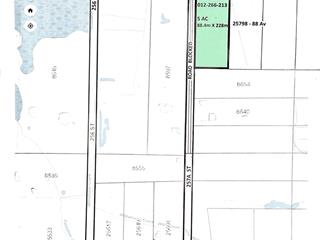 Lot for sale in County Line Glen Valley, Langley, Langley, 88 Avenue, 262478182 | Realtylink.org