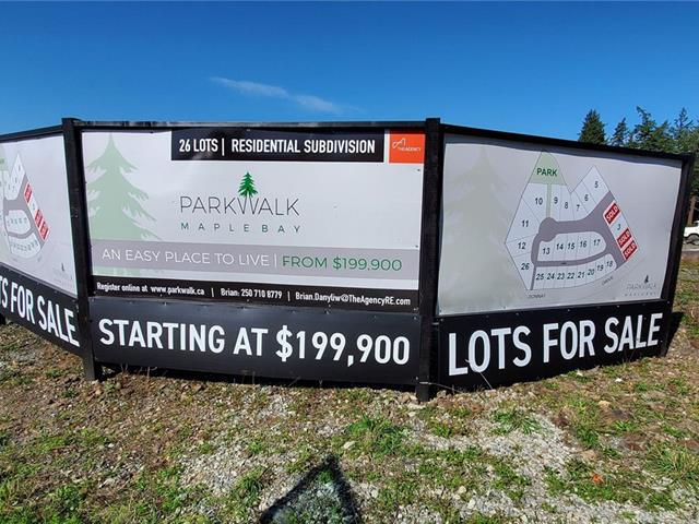 Lot for sale in Duncan, West Duncan, Lot 11 Farleigh Way, 853529   Realtylink.org