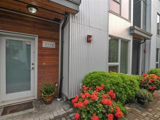 Townhouse for sale in South Marine, Vancouver, Vancouver East, 2223 Southside Drive, 262520924   Realtylink.org