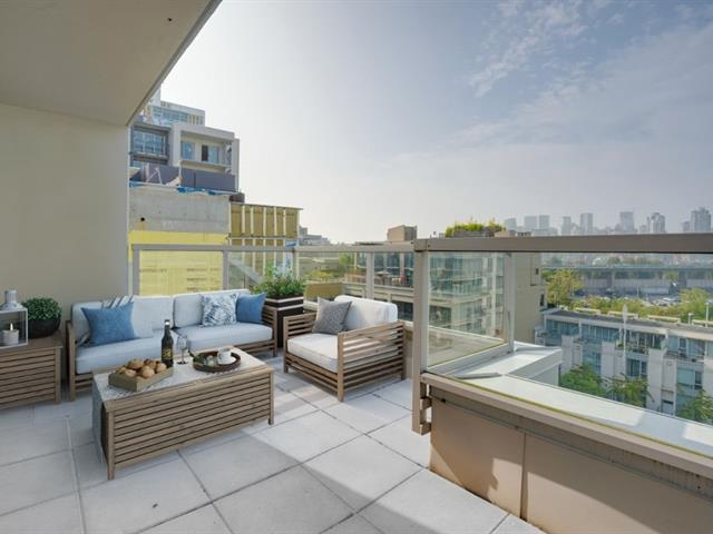 Apartment for sale in False Creek, Vancouver, Vancouver West, 712 1887 Crowe Street, 262520293 | Realtylink.org