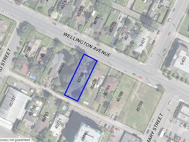 Lot for sale in Chilliwack W Young-Well, Chilliwack, Chilliwack, 45768 Wellington Avenue, 262524586 | Realtylink.org