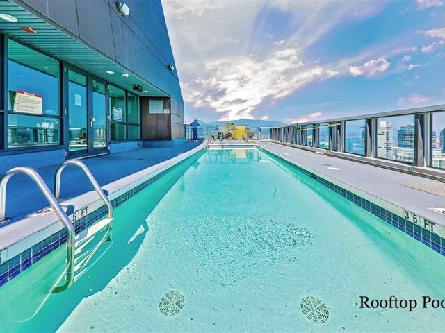 Apartment for sale in Coal Harbour, Vancouver, Vancouver West, 3403 1189 Melville Street, 262472801 | Realtylink.org
