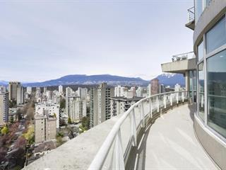 Apartment for sale in West End VW, Vancouver, Vancouver West, 1804 1277 Nelson Street, 262470852 | Realtylink.org