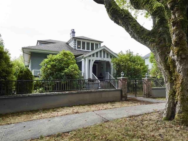 House for sale in Shaughnessy, Vancouver, Vancouver West, 1212 Balfour Avenue, 262421844 | Realtylink.org