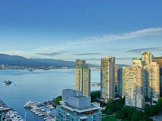 Apartment for sale in Coal Harbour, Vancouver, Vancouver West, 2802 1499 W Pender Street, 262500977 | Realtylink.org