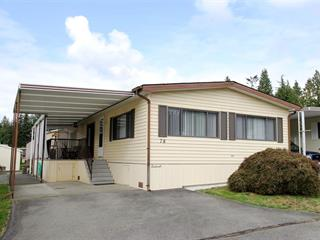Manufactured Home for sale in Brookswood Langley, Langley, Langley, 78 2315 198 Street, 262514515 | Realtylink.org