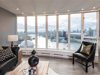 Apartment for sale in Downtown VE, Vancouver, Vancouver East, 2502 1188 Quebec Street, 262518115   Realtylink.org