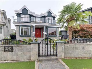 House for sale in Fraserview VE, Vancouver, Vancouver East, 2365 Hoylake Avenue, 262522059   Realtylink.org