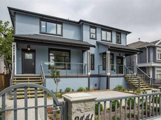 1/2 Duplex for sale in Collingwood VE, Vancouver, Vancouver East, 2443 E 40th Avenue, 262437447 | Realtylink.org