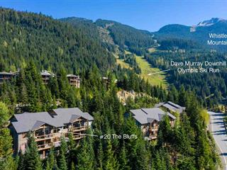 Townhouse for sale in Nordic, Whistler, Whistler, 20 2301 Taluswood Lane, 262511408 | Realtylink.org